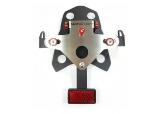 Eliminador de rabeta inox Ducati